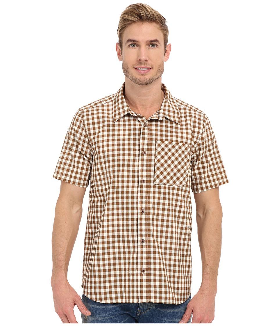 ToadampCo Pilotlight Short Sleeve Shirt Acorn Mens Short Sleeve Button Up