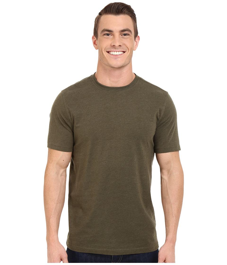 ToadampCo Motile Short Sleeve Crew Dark Moss Mens T Shirt