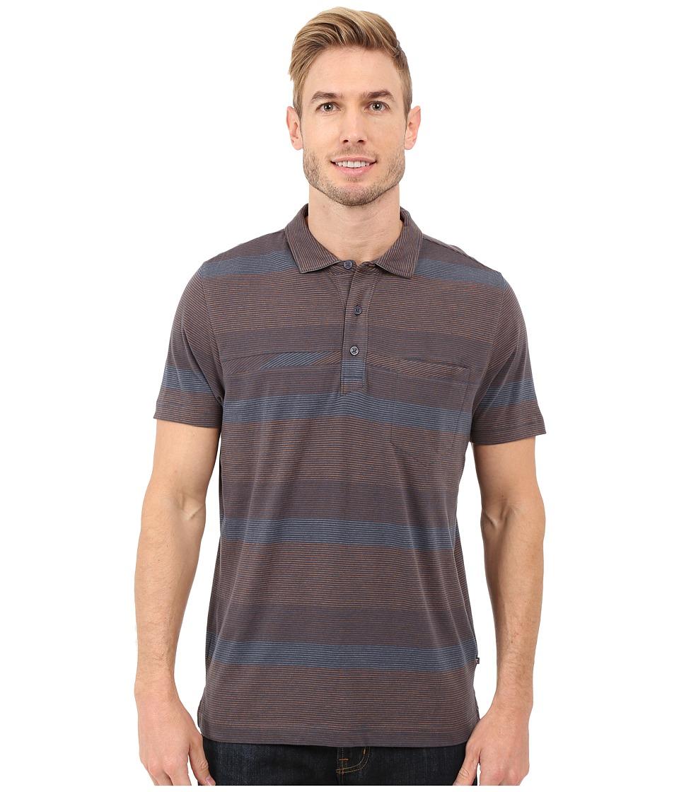 ToadampCo Jack S/S Polo Shirt Nightsky Mens Short Sleeve Knit