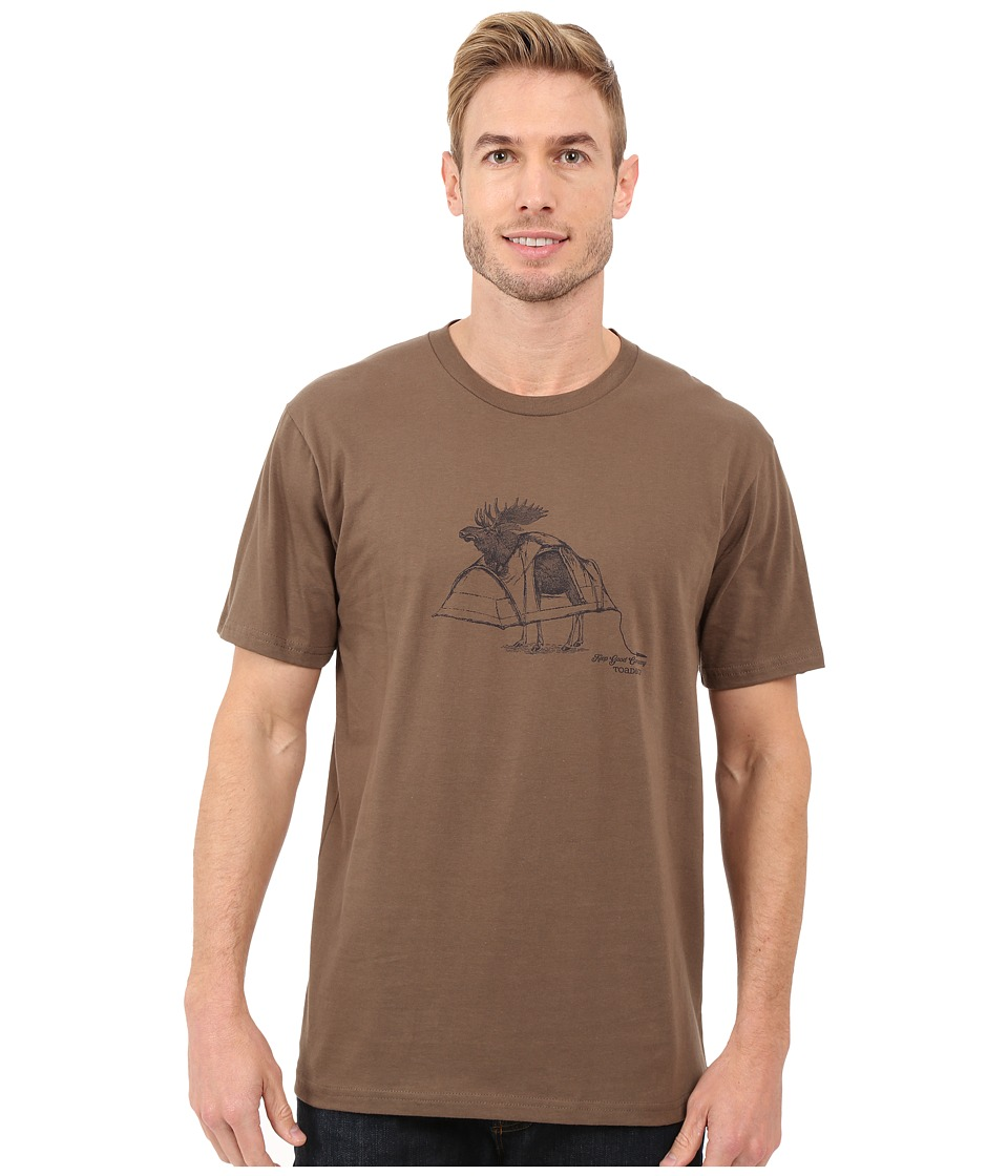 ToadampCo Shelter Short Sleeve Tee Jeep Mens T Shirt