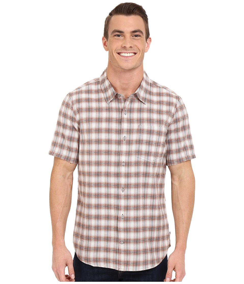 ToadampCo Open Air S/S Shirt Dark Graphite Mens Short Sleeve Button Up