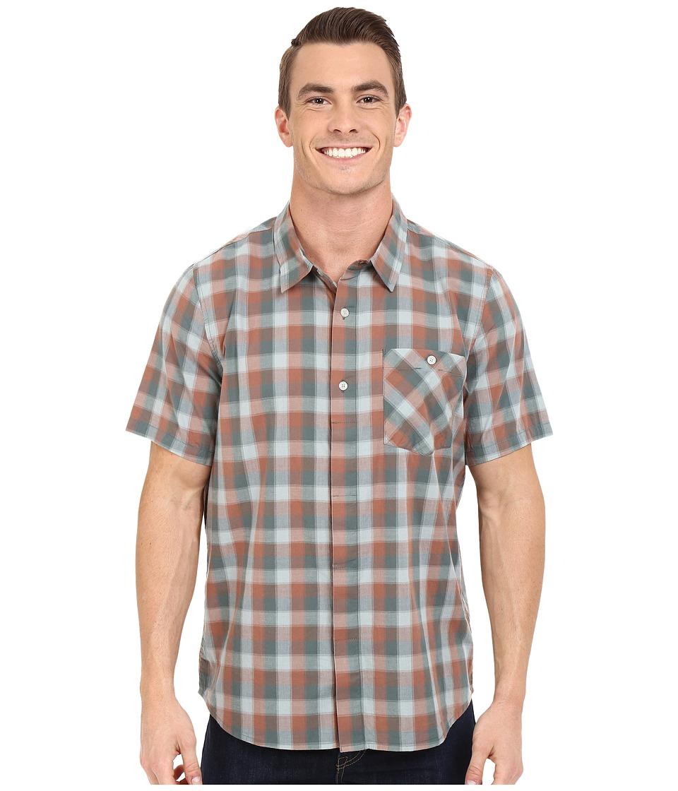 ToadampCo Maneuver Short Sleeve Shirt Pine Mens Short Sleeve Button Up