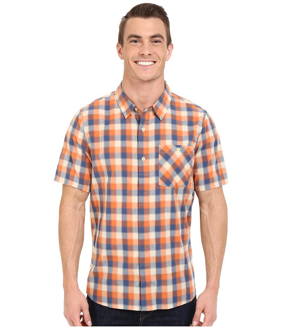 ToadampCo Maneuver Short Sleeve Shirt Yellow Warbler Mens Short Sleeve Button Up