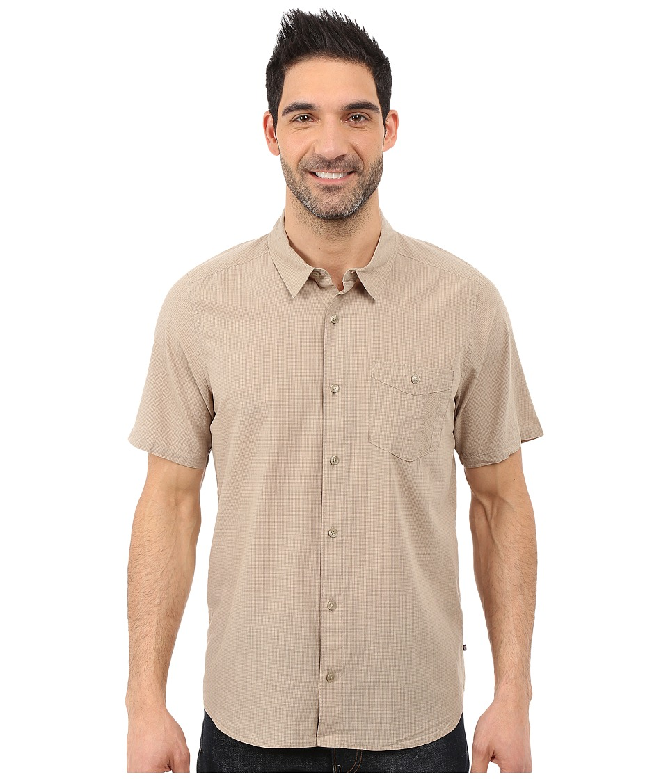 ToadampCo Airbrush S/S Shirt Buckskin Mens Short Sleeve Button Up