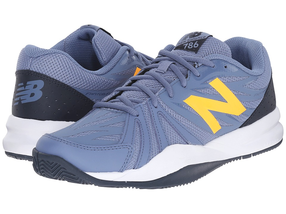 New Balance MC786v2 (Grey/Yellow) Men