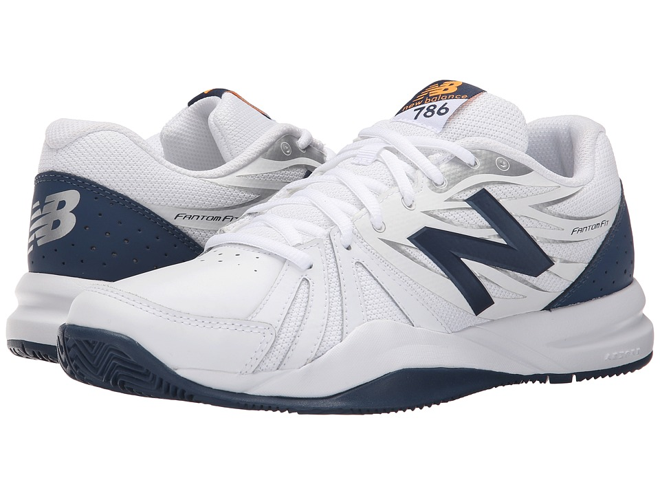 New Balance - MC786v2 (White/Blue) Mens Shoes