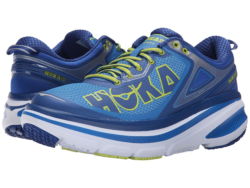 Hoka One One Bondi 4 Directoire Blue/True Blue Mens Running Shoes