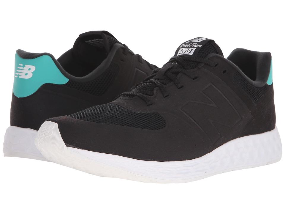 New Balance Classics MFL574 Black Mens Classic Shoes