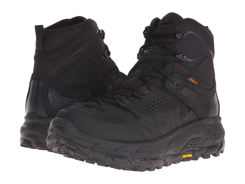 Hoka One One - Tor Ultra Hi WP (Black) Mens Running Shoes
