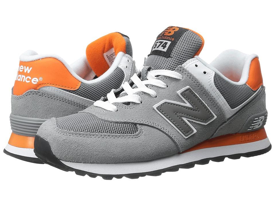 New Balance Classics ML574 (Grey/Orange) Men