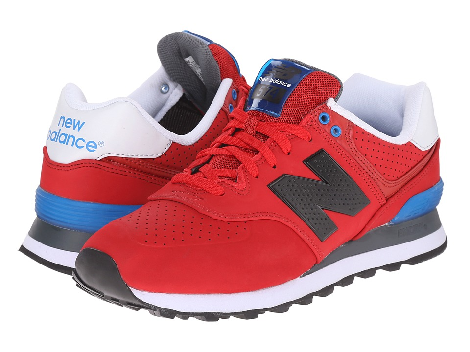 New Balance Classics ML574 (Red/Blue) Men