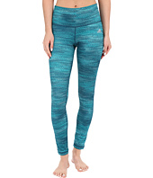 adidas - Performer Mid Rise Long Tights - Macro Heather Print