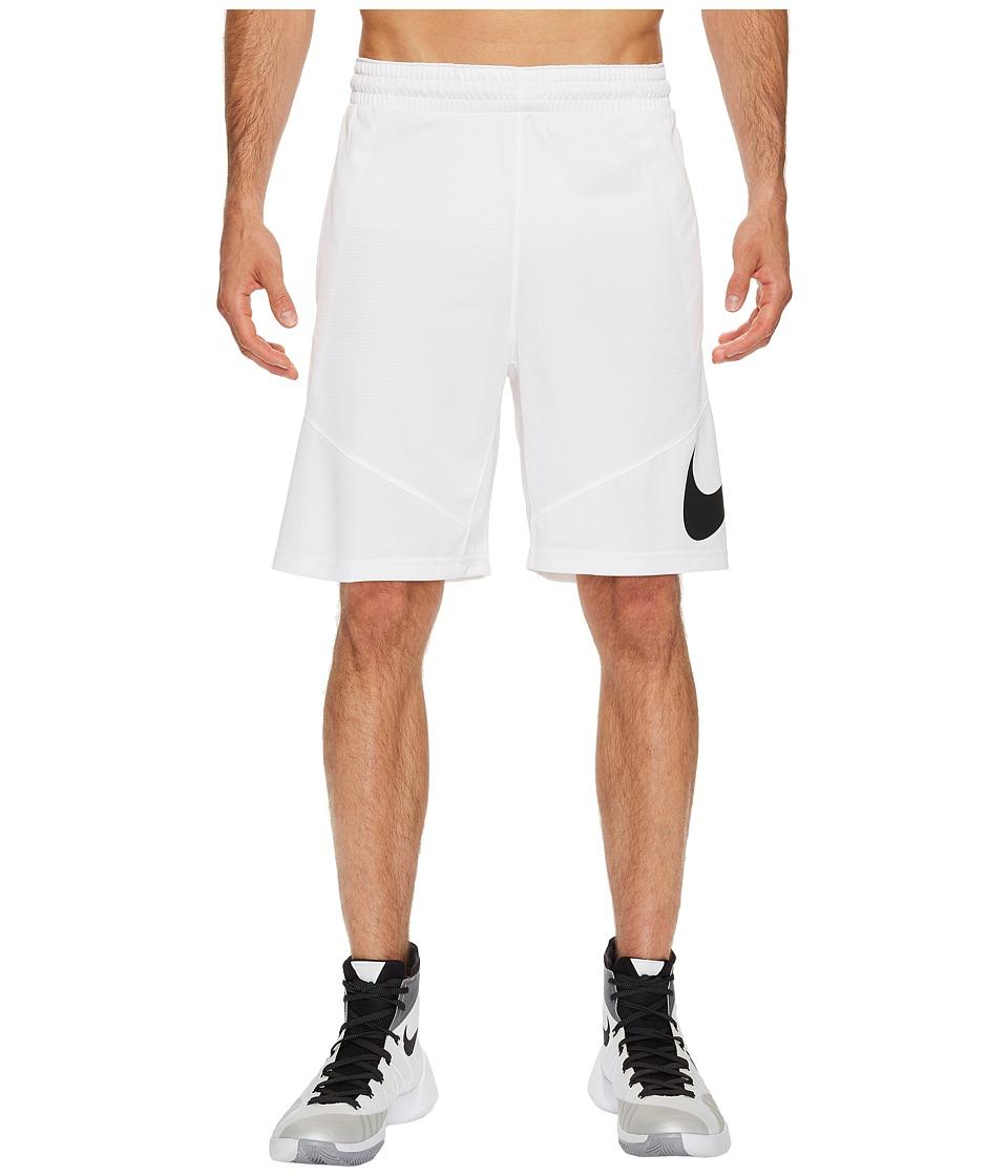 Nike HBR Shorts (White/White/White/Black) Men