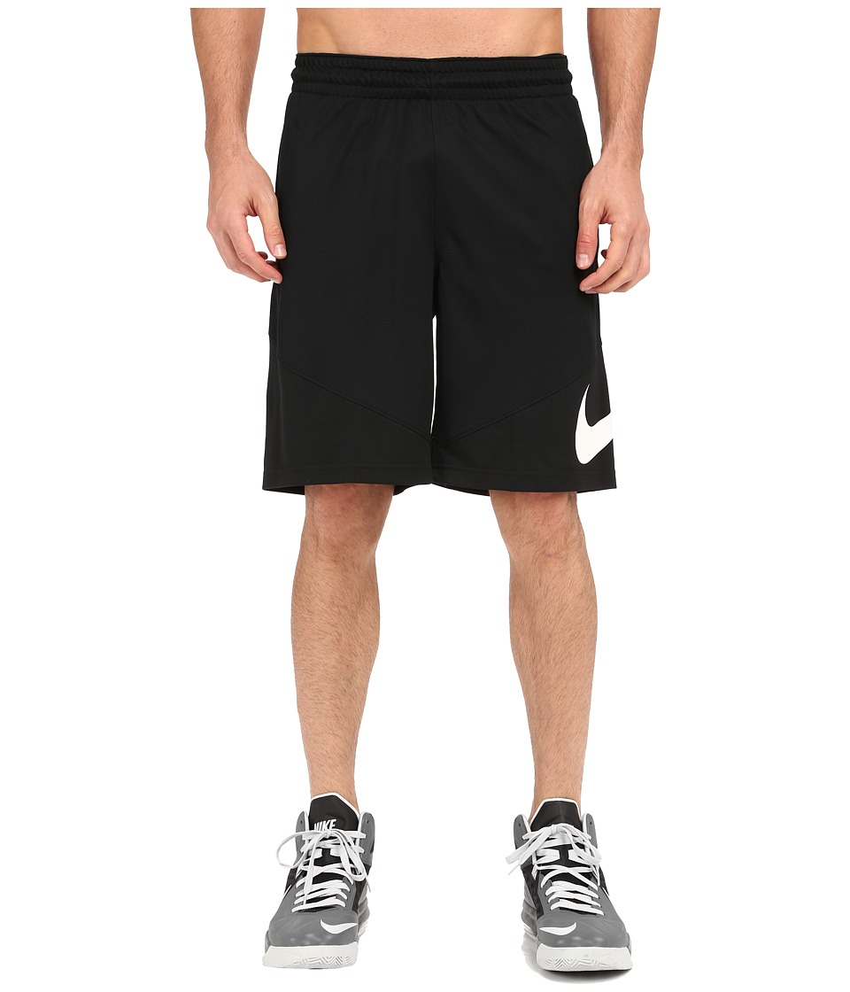 Nike HBR Shorts (Black/Black/Black/White) Men