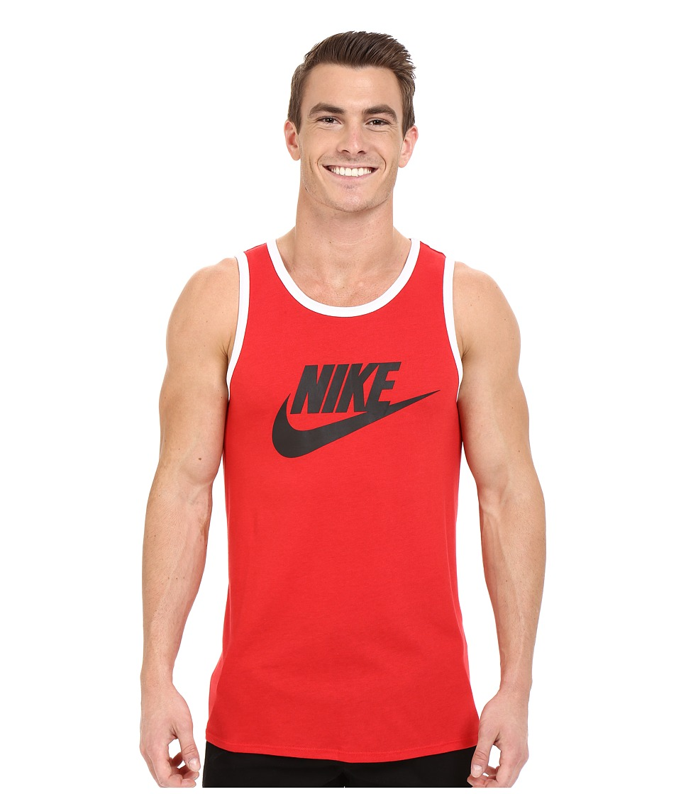 Nike Ace Logo Tank Top (University Red/Black/White) Men