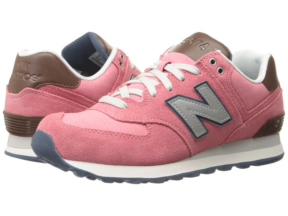 New Balance Classics WL574 (Mineral Pink) Women