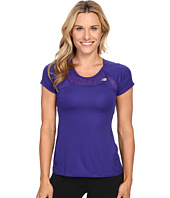 New Balance - Run Short Sleeve Top
