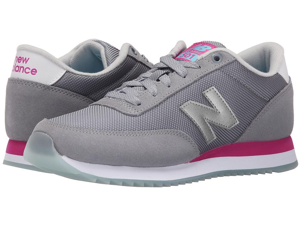 New Balance Classics WZ501 (Grey/Pink) Women