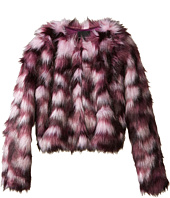 Marciano Kids - Crop Fur Jacket (Big Kids)