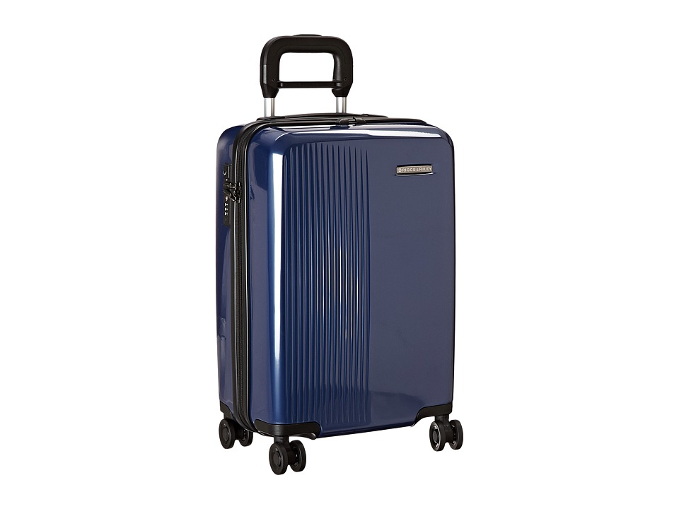 Briggs & Riley - Sympatico - International Carry-On Spinner (Marine Blue) Carry on Luggage