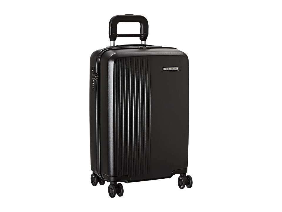 Briggs & Riley - Sympatico - International Carry-On Spinner (Black) Carry on Luggage