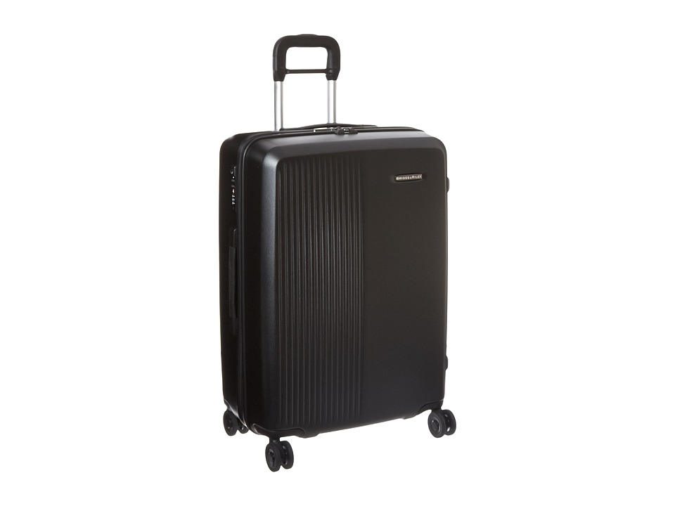 Briggs amp Riley Sympatico Medium Spinner Black Luggage