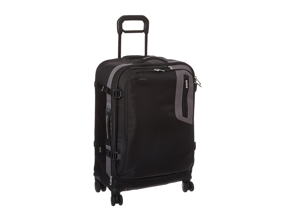 Briggs & Riley - BRX - Explore Medium Expandable Spinner (Black) Luggage
