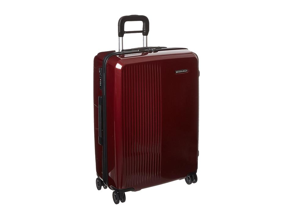 Briggs & Riley - Sympatico - Medium Spinner (Burgundy) Luggage