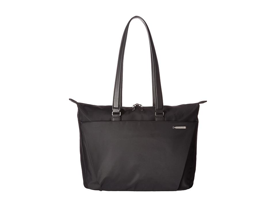 Briggs amp Riley Sympatico Shopping Tote Black Tote Handbags