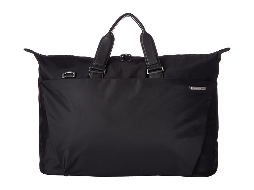 Briggs & Riley Sympatico Weekender Duffel (Black) Duffel Bags