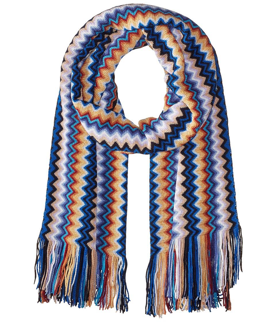 Missoni SA57WMD5008 Blue Scarves