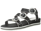 Marc by Marc Jacobs Charlotte Strass Buckle Sandal (Black)