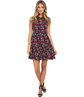 Rebecca Taylor - Mystic Twist Neck Garden Print Dress