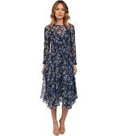 Rebecca Taylor - Mystic Chiffon Garden Print Dress