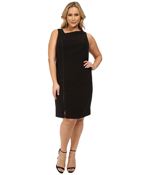 Mynt 1792 Plus Size Moto Dress