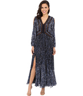 Rebecca Taylor - Block Print Paisley Maxi Dress
