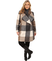 Mynt 1792 - Plus Size Deep Shawl Coat