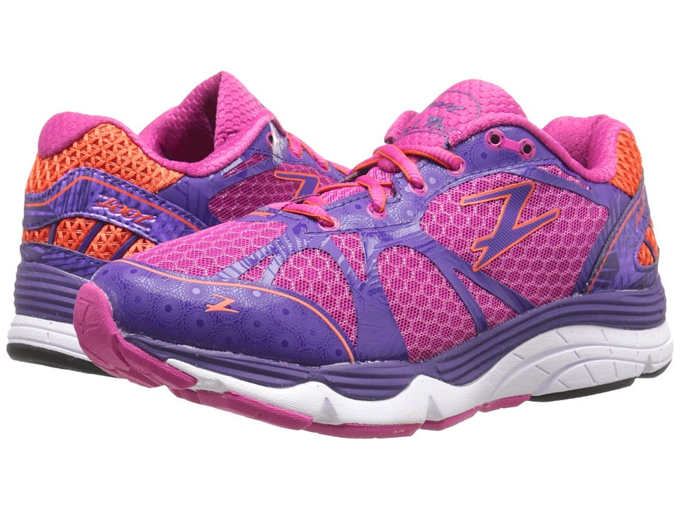 Zoot Sports Del Mar Passion Fruit/Deep Purple/Mandarin Womens Running Shoes