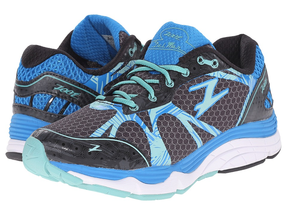 Zoot Sports Del Mar Black/Pacific/Mist Womens Running Shoes
