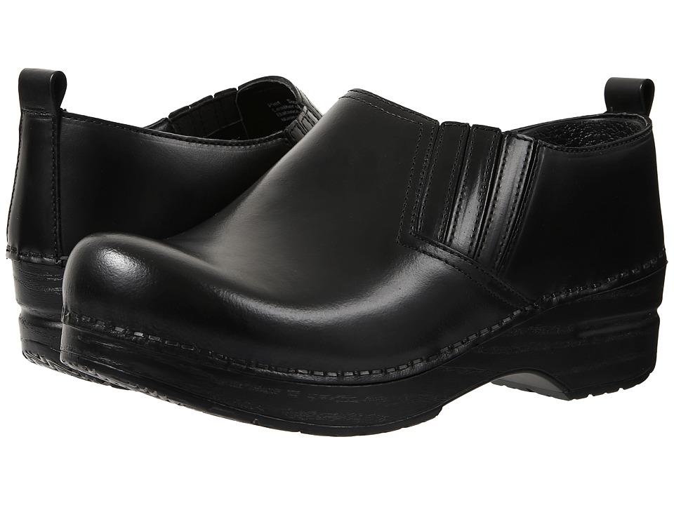 Dansko - Piet (Black Cabrio) Women