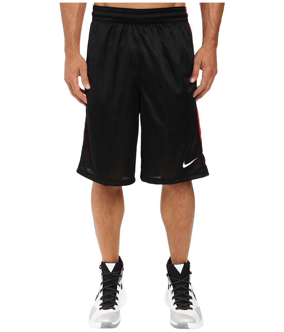 Nike Layup Shorts 2.0 (Black/University Red/Black/White) Men