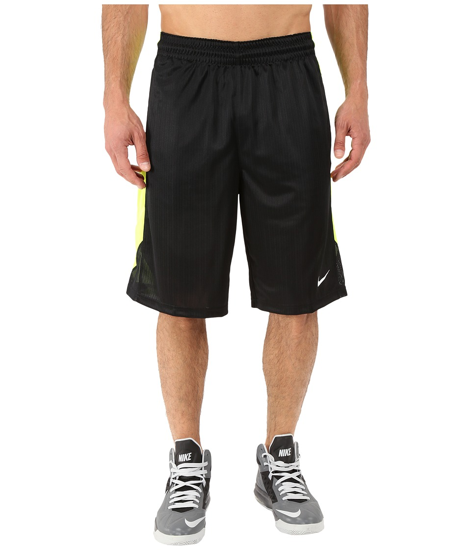 Nike Layup Shorts 2.0 (Black/Volt/Black/White) Men