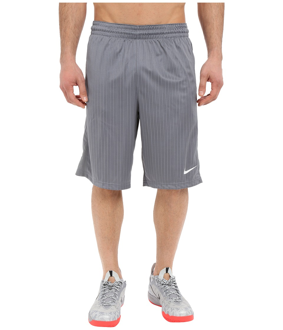 Nike Layup Shorts 2.0 (Cool Grey/Cool Grey/Cool Grey/White) Men