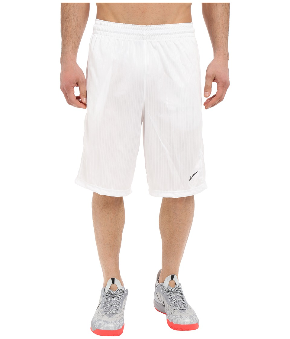 Nike Layup Shorts 2.0 (White/White/White/Black) Men