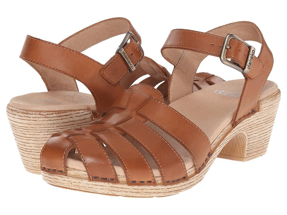 Dansko Milly Camel Full Grain Womens Sandals
