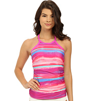 Athena - Bermuda Sunrise Soft Cup High Neck Tankini Top