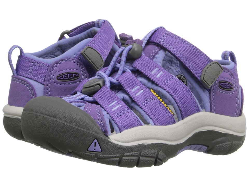 Keen Kids Newport H2 (Toddler/Little Kid) (Purple Heart/Periwinkle) Girls Shoes