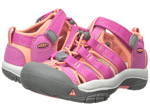 Keen Kids Newport H2 (Toddler/Little Kid) - Very Berry/Fusion Coral