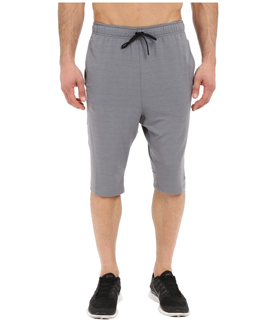 Nike Dri-FITtm Fleece Training Short (Cool Grey/Black) Men