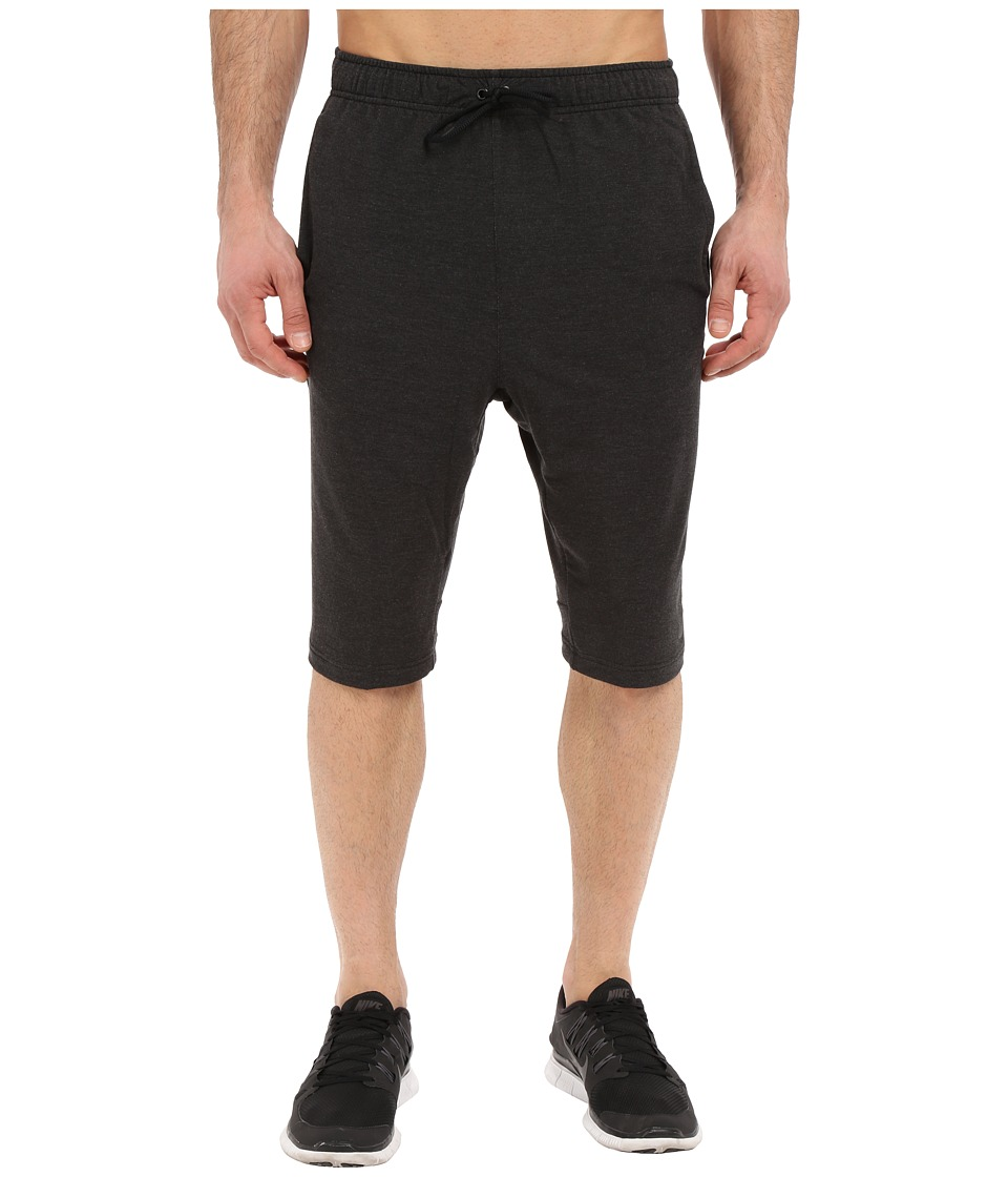 Nike Dri-FITtm Fleece Training Short (Black/Black) Men